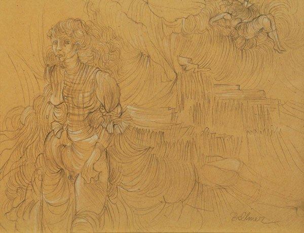 3B: BELLMER, Hans (1902-1975) Dream of a young Woman