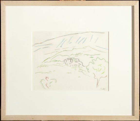 17: MAAR, Dora (1907-1997) «Esquisse #32» Ink and penci