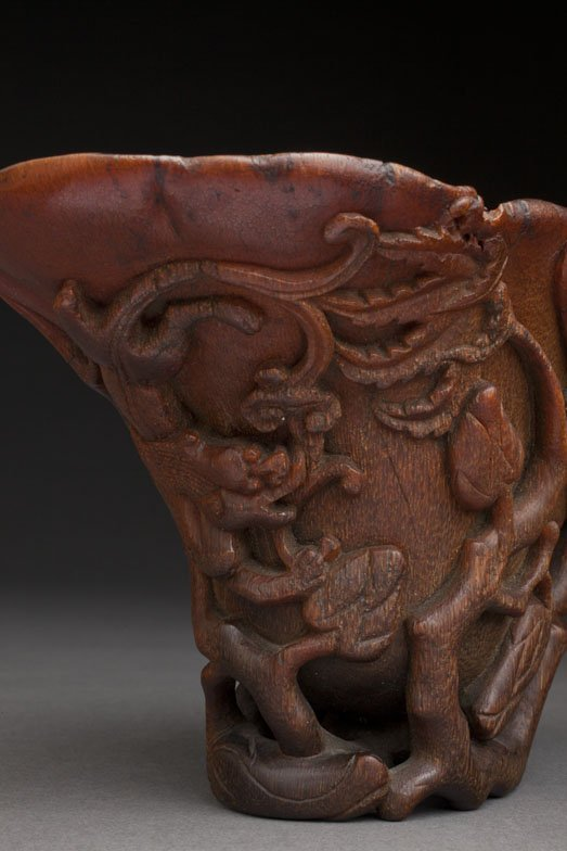 RHINO CUP  - Prominent   Wolfson 1974 - 266.9 gr.