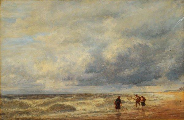 BONINGTON, Richard Parkes (1802-1828) Fishing with Net