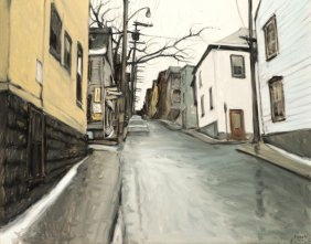 "LITTLE, John Geoffrey Caruthers ARCA (1928-) ""Côte Ste-"