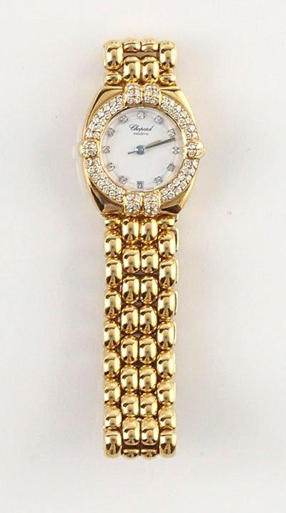 CHOPARD - 18K GOLD AND DIAMONDS