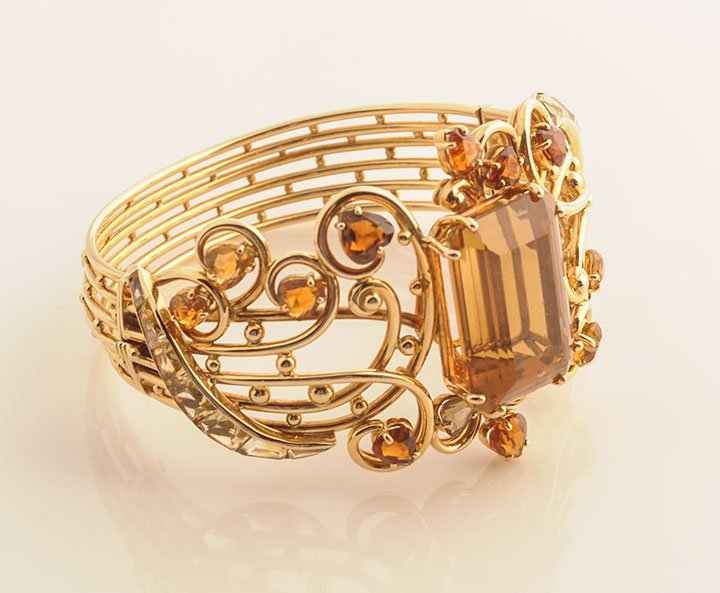 LUCAS - 18K GOLD AND CITRINES
