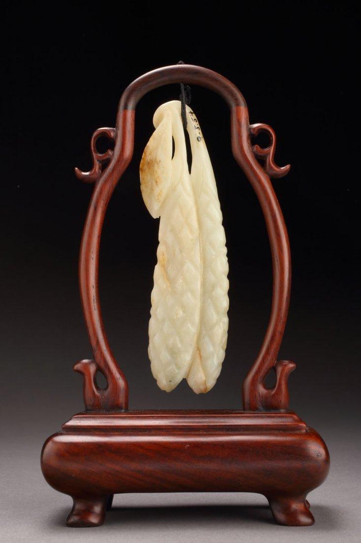Fine & Antique Jade Millet Pendant - Private Collection