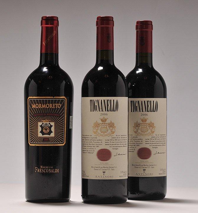 Mormoreto 2000 & Tignanello 2006 - 3 bottles