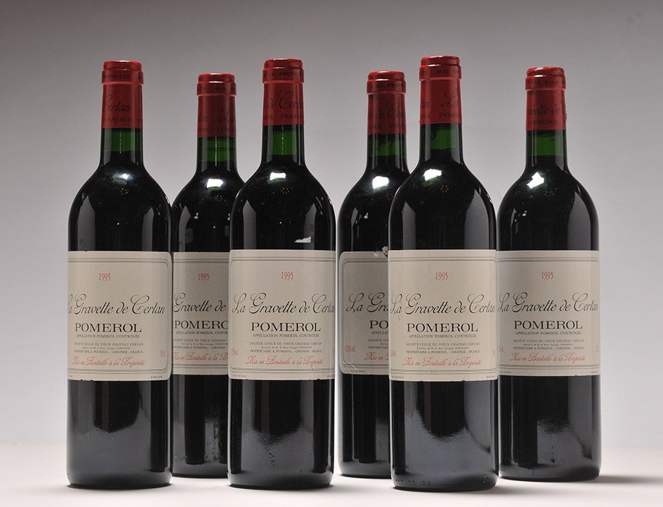 La Gravette de Certan 1995 - 6 bottles