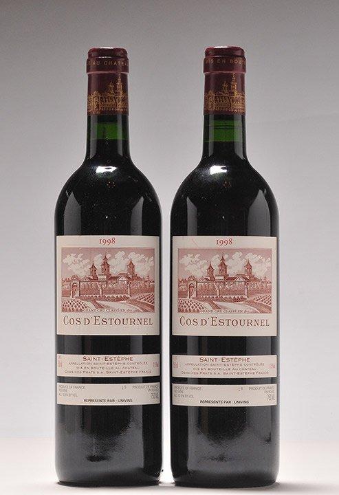 Cos d'Estournel 1998 - 2 bottles