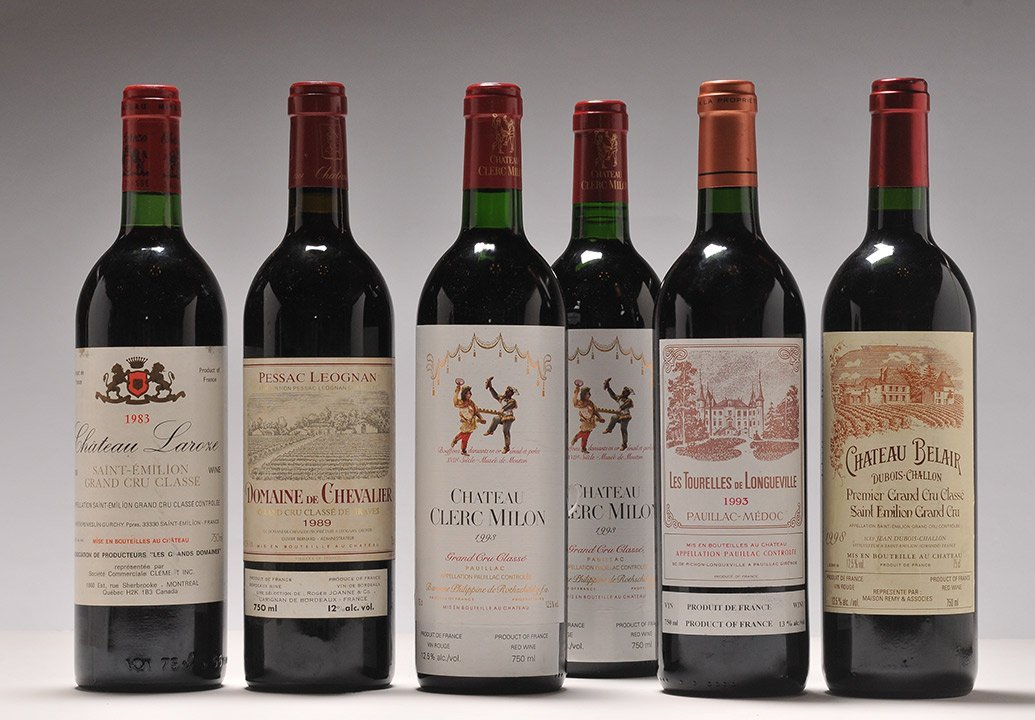 Selection of Wines from Bordeaux - 6 bottles