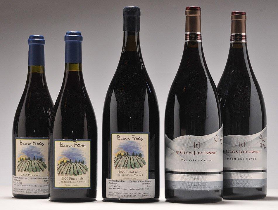 Beaux Frères 2000 & Le Clos Jordanne 2003 - 5 bottles