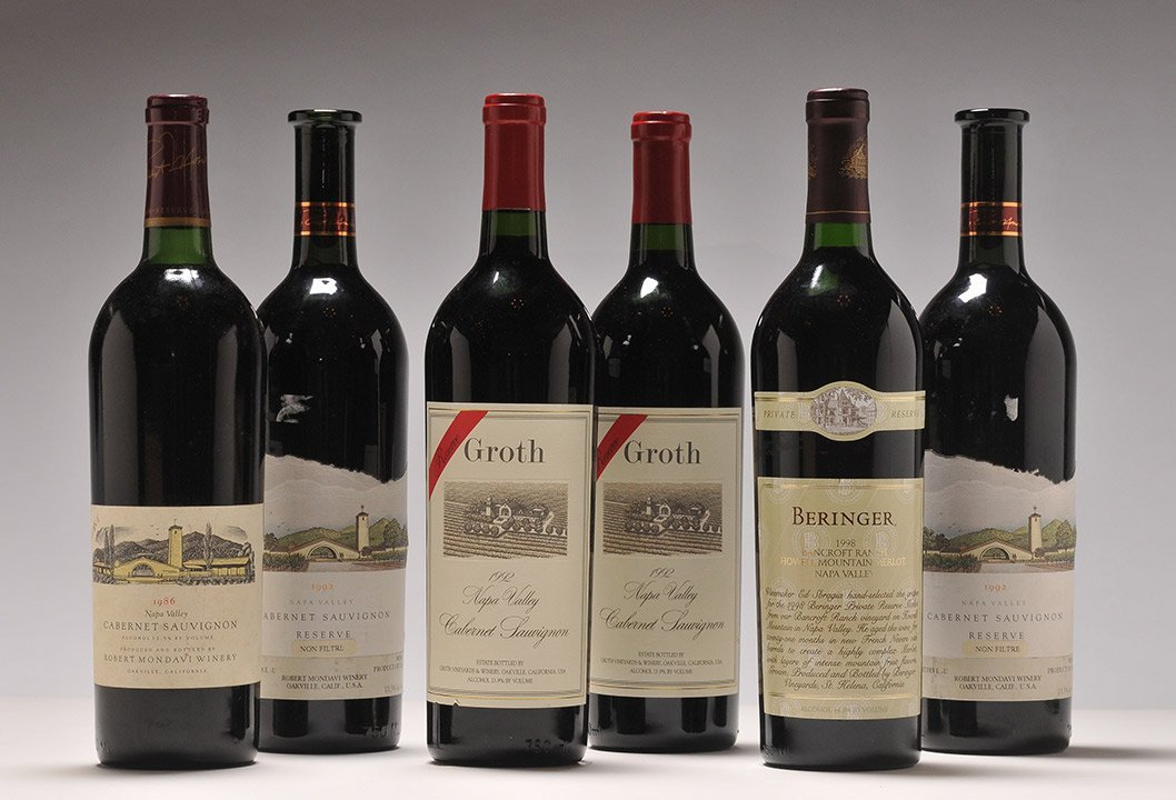Selection of Wines froms États-Unis - 6 bottles