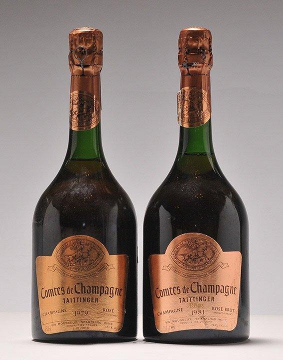Comtes de Champagne 1979 & Comtes de Champagne 1981 - 2