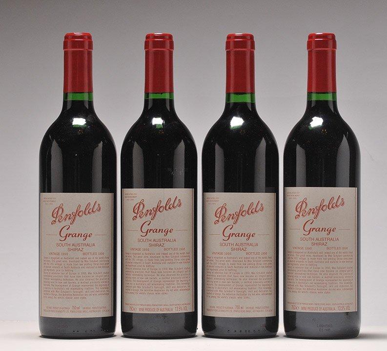 Penfolds Grange Bin 95 1995 - 4 bottles