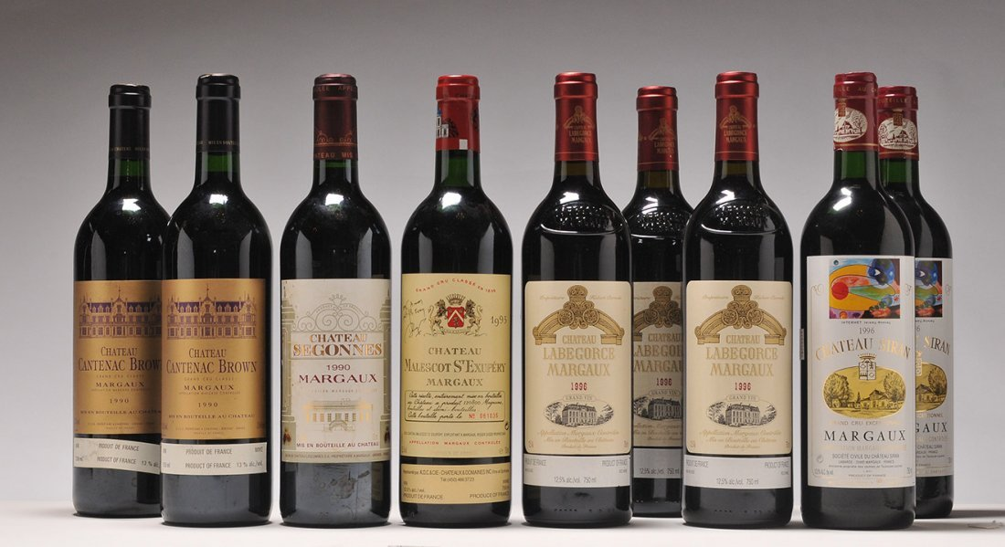 Selection of Wines from Margaux - 9 bottles