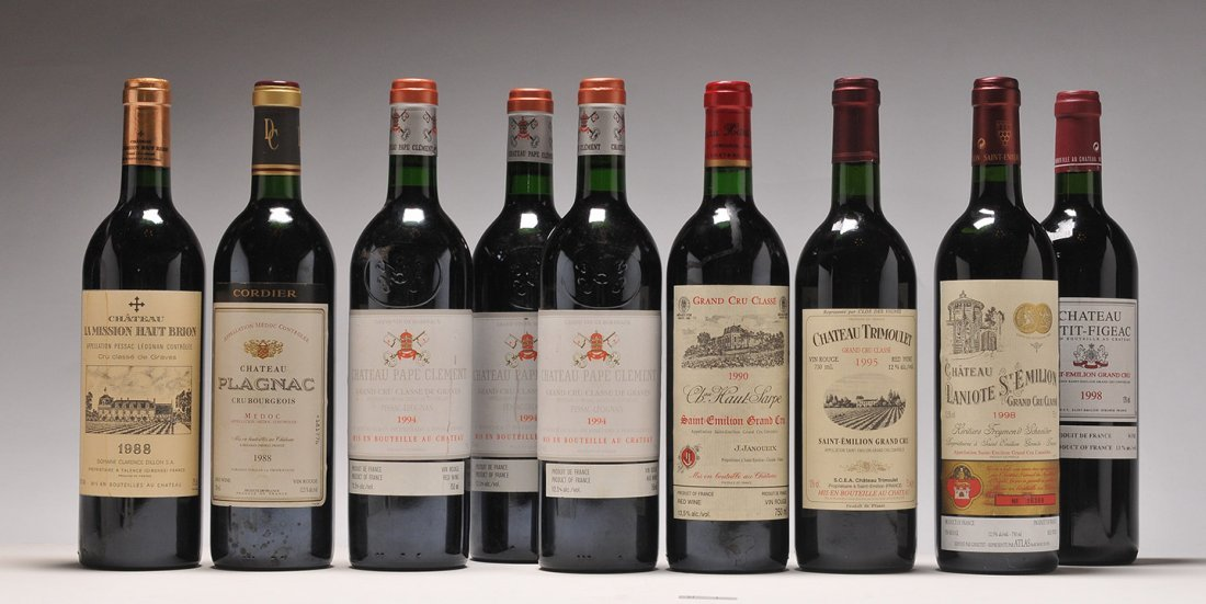 Selection of Wines from Bordeaux - 9 bottles