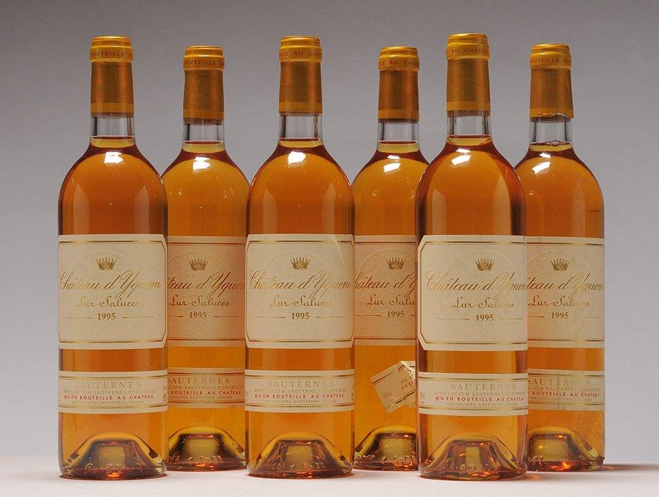 Château d'Yquem 1995 - 6 bottles