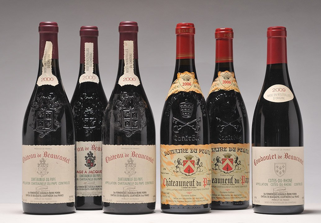 Selection of Wines from Châteauneuf-du-Pape - 6 bottles