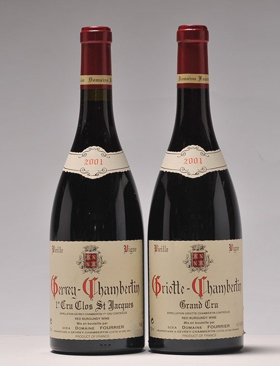 Selection of Wines by Fourrier - 2 bottles