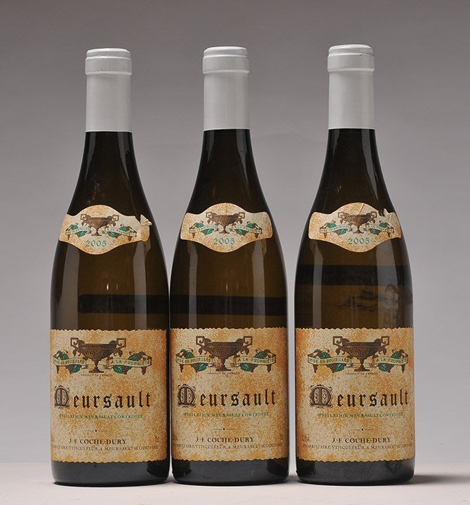 Meursault 2005, Coche-Dury - 3 bottles