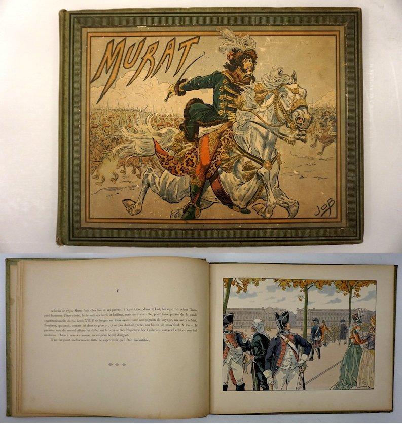 Murat, Text by G. Montorgueil, aquacolor by Job