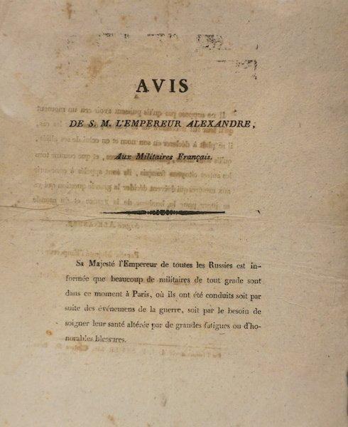 Russian proclamation