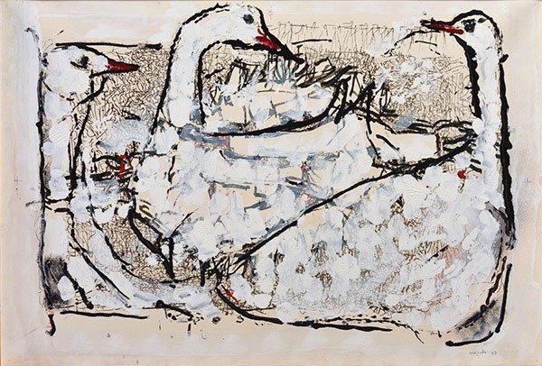 RIOPELLE, Jean-Paul RCA (1923-2002)