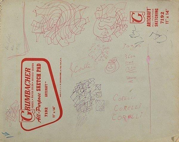 MOLINARI, Guido (1933-2004) - 29 sketches