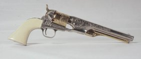 Colt Model 1861 Navy Revolver By Franklin Mint