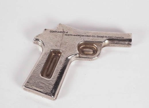 RARE North American Arms Co-QuŽbec city Paperweight