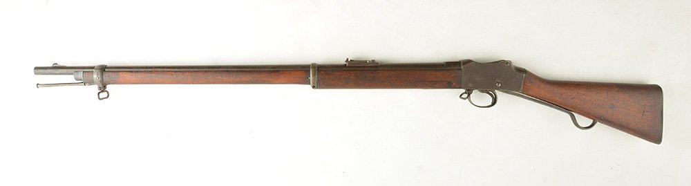 BRITISH INFANTRY MARTINI-HENRY RIFLE Mk IV. Ca 1887 - 2