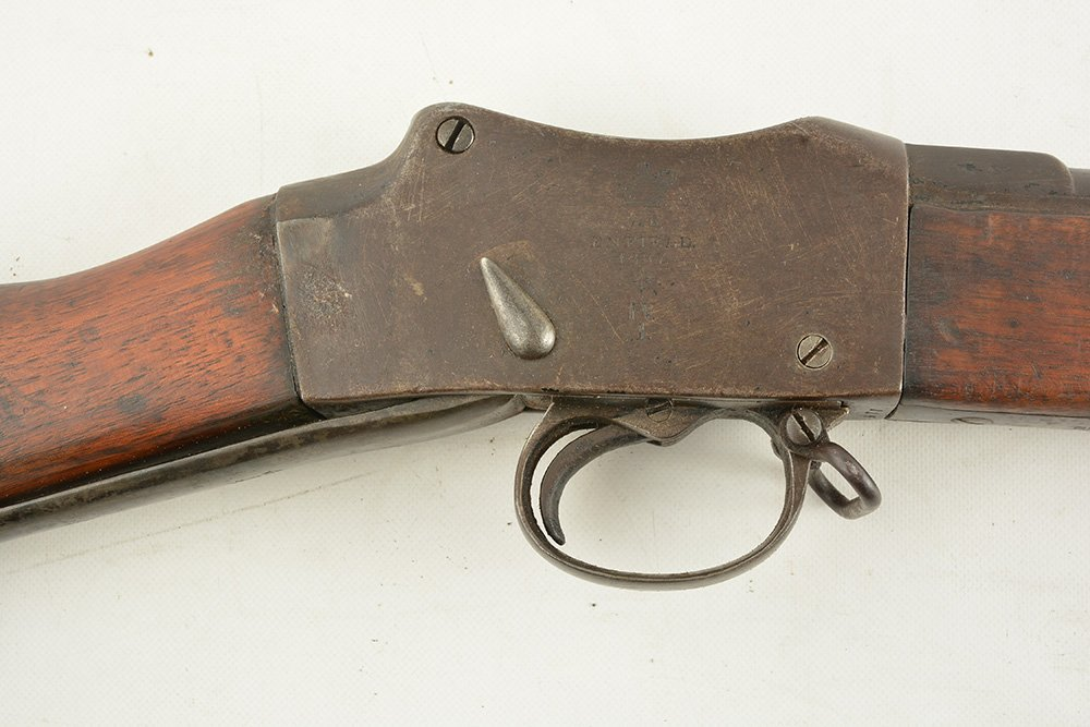 BRITISH INFANTRY MARTINI-HENRY RIFLE Mk IV. Ca 1887 - 6