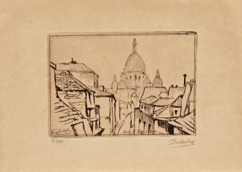 DELATRE, Eugène (1901-1967)