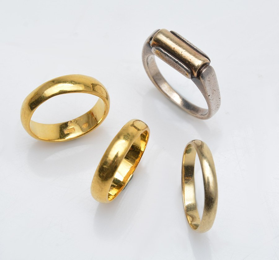 999.9 GOLD, 14K GOLD AND SILVER