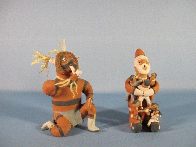 2: Jemez Pueblo Pottery 2 figures