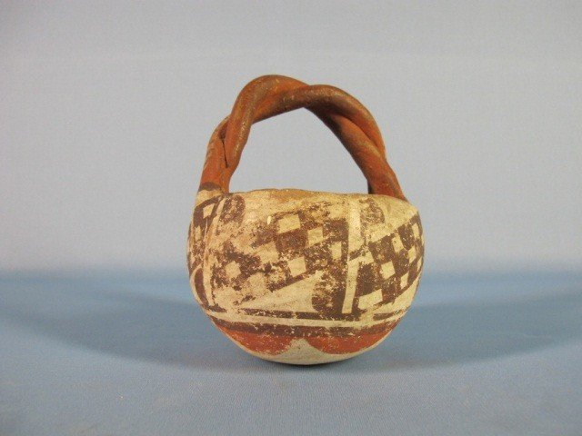 7: Early Native American Indian Pot