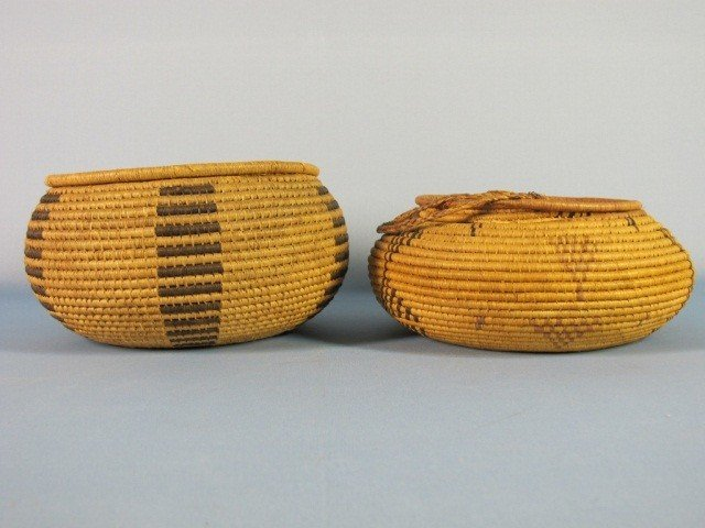 66: Two Native American Basketry Items