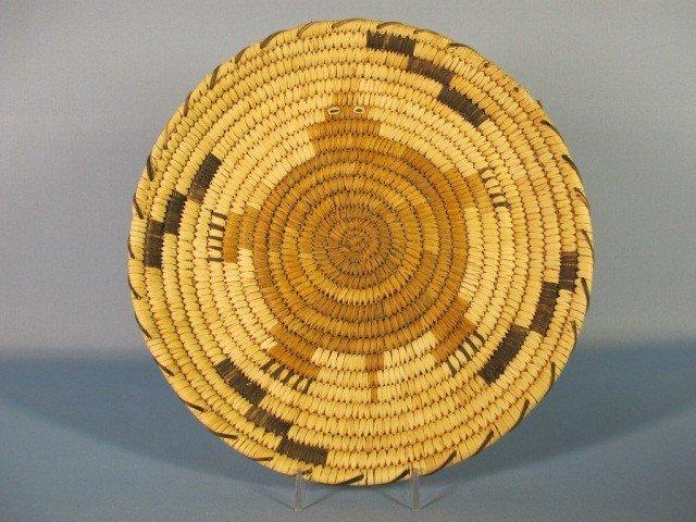 148: Papago Hopi Flat Baskets - 2