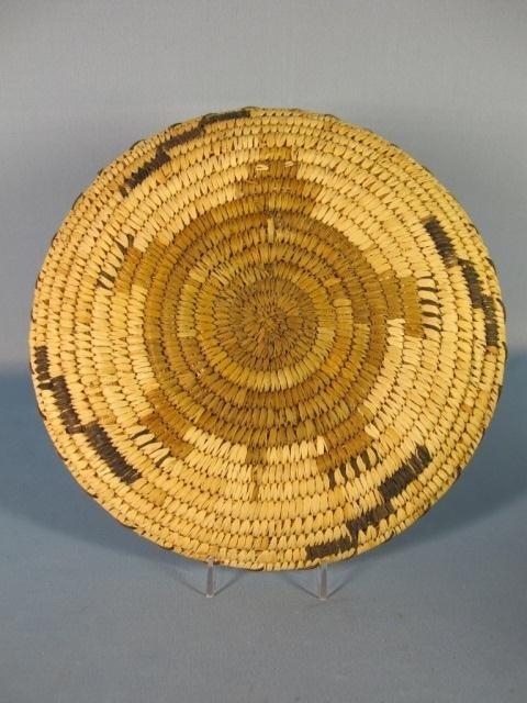 148: Papago Hopi Flat Baskets - 3