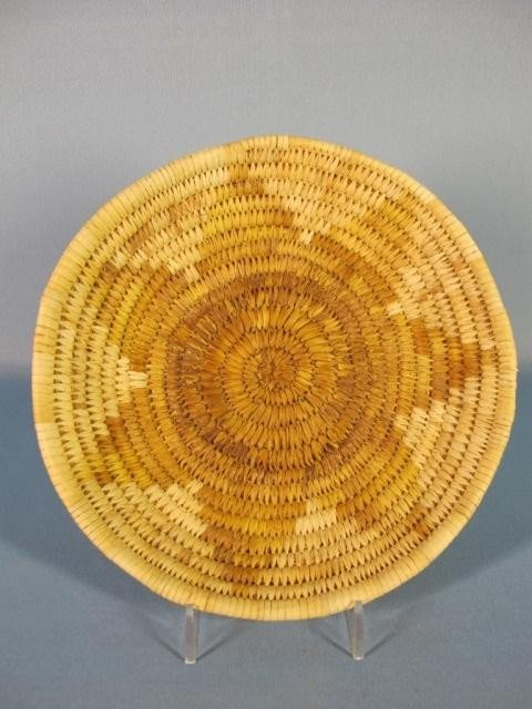 148: Papago Hopi Flat Baskets - 4