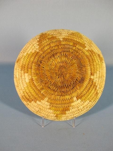 148: Papago Hopi Flat Baskets - 5