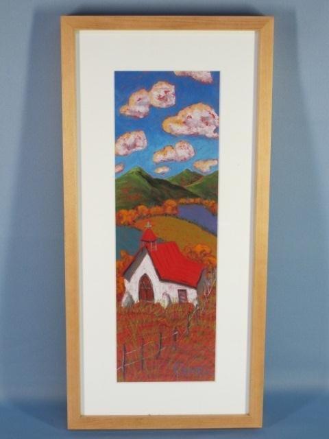 5: Oil Pastel on Paper by Jennifer Cavan