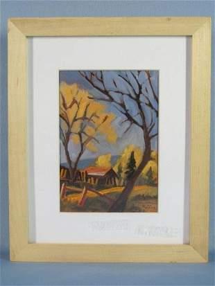 22: Oil on Paper by Alan Lee Heuer