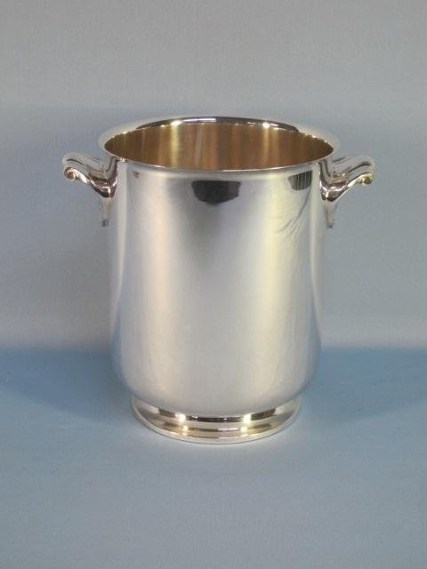 68: Christofle Silver Plated Champagne Bucket