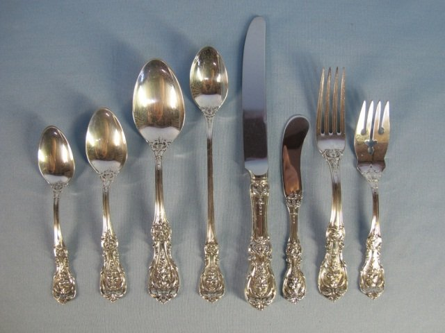 "69: 86 PSC ""Francis I"" Sterling Flatware Reed & Barton"