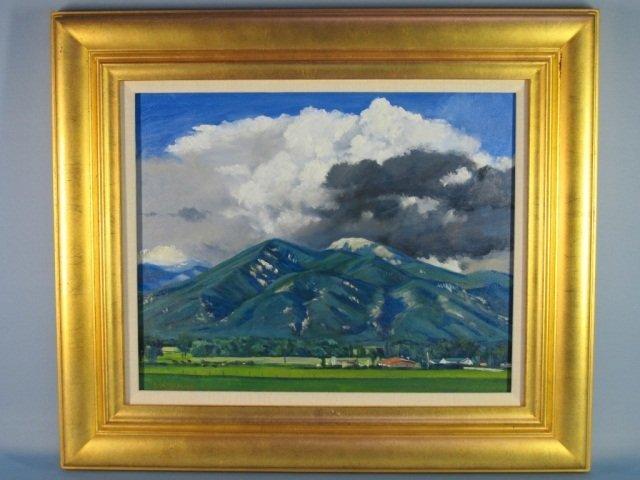 114: Oil on Canvas by Ben Bassham