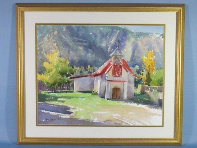 115: Watercolor by Ken Daggett