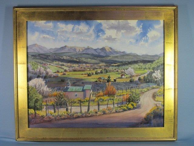 116: Watercolor by Ken Daggett