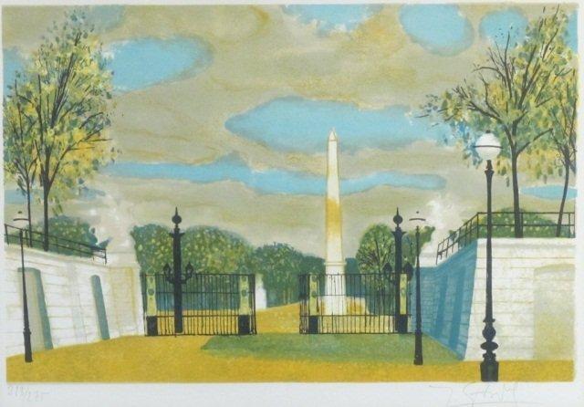 4: Yves Ganne (1931 - ), Les Tuileries