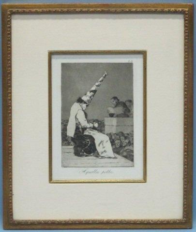 16: Francisco de Goya (1746-1828), Los Caprichos #23