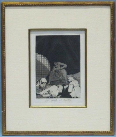 17: Francisco de Goya (1746-1828), Los Caprichos #34