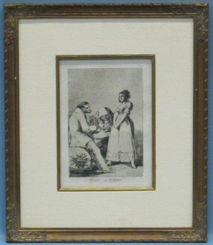 18: Francisco de Goya (1746-1828), Los Caprichos #73